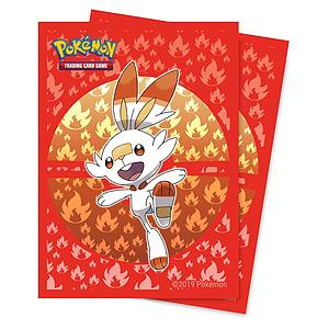 Pokemon Scorbunny Standard Card Sleeves (66mm x 91mm)