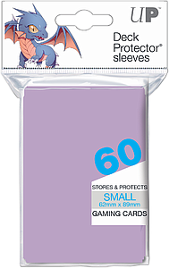 ULTRA PRO Deck Protector Sleeves 60 CT Lilac Small (62mm x 89mm)