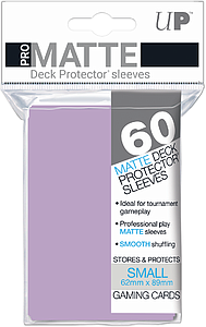 Lilac Pro-Matte Card Sleeves (62mm x 89mm)