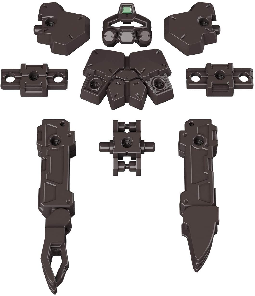 30MM 1/144 Scale Model Kit: OP-16 Option Armor for Base Attack (Rabiot Exclusive/ Dark Brown)
