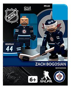 NHL Hockey Minifigures: Zach Bogosian (Winnipeg Jets)
