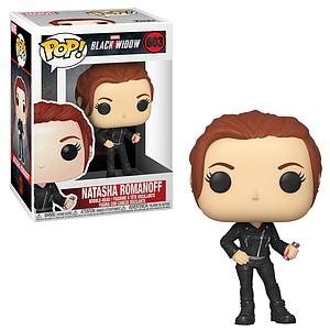 Pop! Marvel Black Widow Vinyl Bobble-Head Natasha Romanof #603