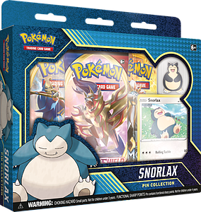 Pokemon Trading Card Game: Snorlax Pin Collection