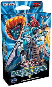 YuGiOh Trading Card Game Structure Deck: Mechanized Madness