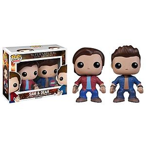 Pop! Television Supernatural Vinyl Figure 2-Pack Sam & Dean HMV Exclusive