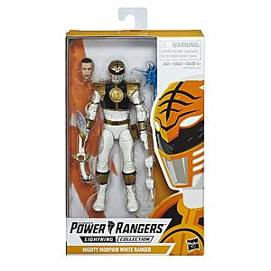 "HASBRO Power Rangers Lightning Collection 6"" Action Figure Mighty Morphin White Ranger"