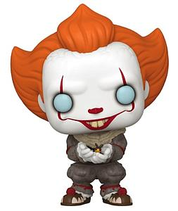 Pop! Movies IT Chapter Two Vinyl Figure Pennywise with Glow Bug #877 GameStop Exclusive (EB Games Sticker)