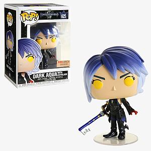 Pop! Disney Kingdom Hearts Vinyl Figure Dark Aqua with Keyblade #625 BoxLunch Exclusive
