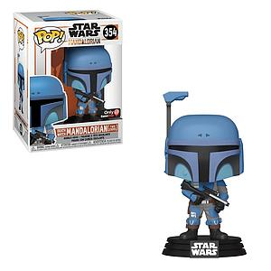 Pop! Star Wars Death Watch Mandalorian Vinyl Bobble-Head The Mandalorian (Two Stripes) #354 GameStop Exclusive (EB Games Sticker)