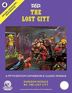 Original Adventures Reincarnated #4: The Lost City