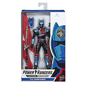 "Power Rangers Lightning Collection 6"" Action Figure S.P.D. Shadow Ranger"