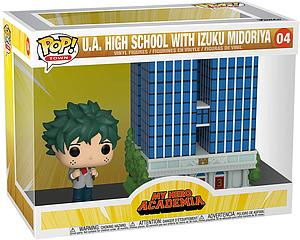 Pop! Town My Hero Academia Vinyl Figure U.A. High School with Izuku Midoriya #04