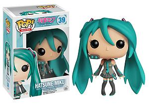 Pop! Rocks Music Vocaloid Vinyl Figure Hatsune Miku #39 (Retired)