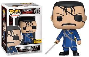 Pop! Animation Fullmetal Alchemist Vinyl Figure King Bradley #733 Hot Topic Exclusive