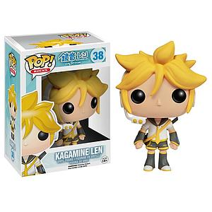 Pop! Rocks Music Vocaloid Vinyl Figure Kagamine Len #38 (Retired)