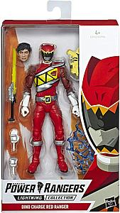 "Power Rangers Lightning Collection 6"" Action Figure Dino Charge Red Ranger"