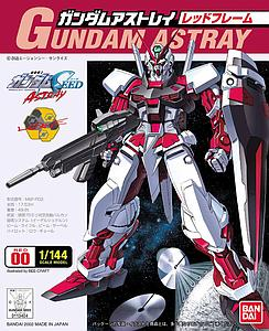 Gundam Seed 1/144 Scale Model Kit: Gundam Astray (Red)