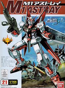 Gundam Seed 1/144 Scale Model Kit: M1 Astray