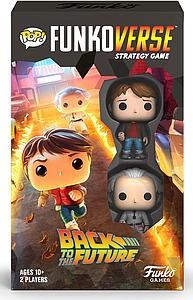 Pop! Funkoverse Strategy Game Back to the Future 100 2-Pack