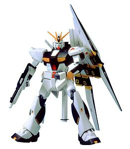 Gundam System Injection 1/144 Scale Model Kit: #08 RX-93 NU-Gundam Fin-Fannel Equipment Type