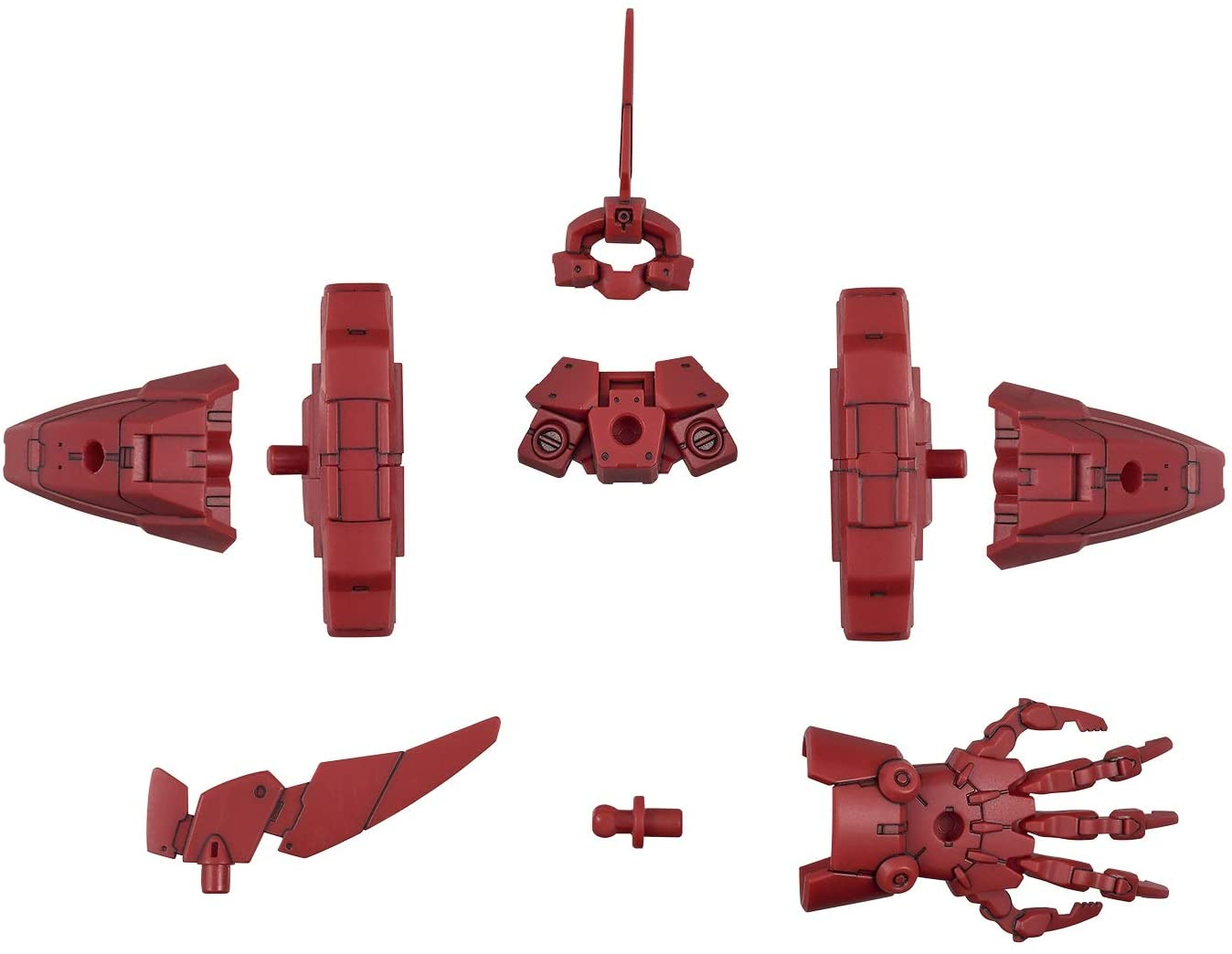 30MM 1/144 Scale Model Kit: OP-20 Option Armor for Elite Officer (Cielnova Exclusive/Red)
