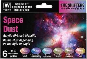 6 Game Color Set - The Shifters Space Dust Set