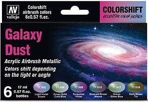 6 Game Color Set - The Shifters Galaxy Dust Set