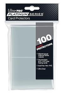 Platinum Series Card Protectors Standard (63.5mm X 88.9mm)