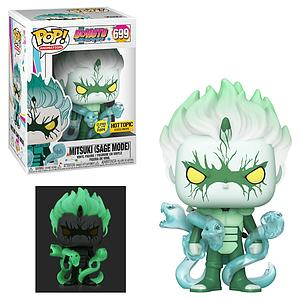 Pop! Animation Boruto Naruto Next Generations Vinyl Figure Mitsuki (Sage Mode) (Glows in the Dark) #699 Hot Topic Exclusive