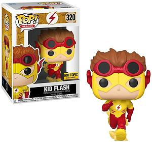 Pop! Heroes DC Vinyl Figure Kid Flash (Young Justice) #320 Hot Topic Exclusive