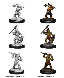 Dungeons & Dragons Nolzur's Marvelous Unpainted Miniatures: Goblins and Goblin Boss