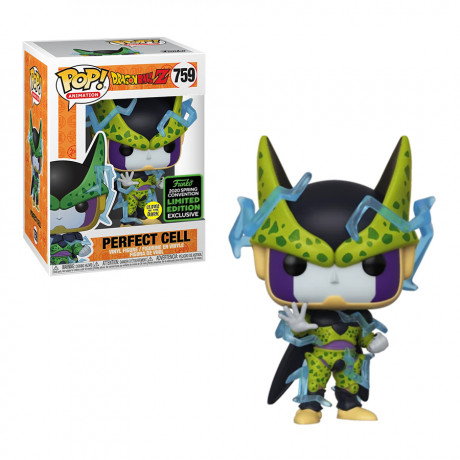 POP Funko Dragon Ball Z Perfect Cell Glow in The Dark 2020 Spring Convention Exclusive