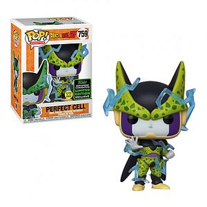 Pop! Animation Dragon Ball Z Vinyl Figure Perfect Cell (Glows in the Dark) #759 2020 Spring Convention Exclusive