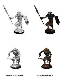 Dungeons & Dragons Nolzur's Marvelous Unpainted Miniatures: Gnoll and Gnoll Flesh Gnawer