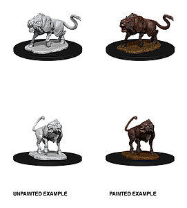 Dungeons & Dragons Nolzur's Marvelous Unpainted Miniatures: Leucrotta
