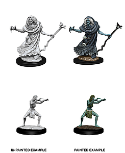 Dungeons & Dragons Nolzur's Marvelous Unpainted Miniatures: Sea Hag and Bheur Hag
