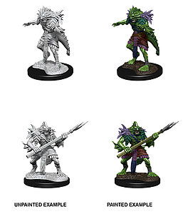Dungeons & Dragons Nolzur's Marvelous Unpainted Miniatures: Sahuagin