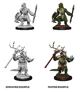 Dungeons & Dragons Nolzur's Marvelous Unpainted Miniatures: Lizardfolk and Shaman