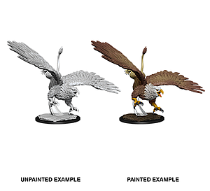 Dungeons & Dragons Nolzur's Marvelous Unpainted Miniatures: Diving Griffon