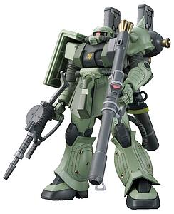 Gundam High Grade Gundam Thunderbolt 1/144 Scale Model Kit: MS-06 Zaku II (Gundam Thunderbolt Ver.)