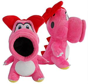 "Super Mario Bros Plush Birdo (10"")"