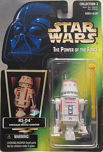 "Star Wars The Power of the Force 3.75"" Action Figure R5-D4 with Concealed Missile Launcher (Trilingual Package)"