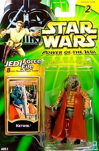 "Star Wars Power of the Jedi 3.75"" Action Figure Ketwol"