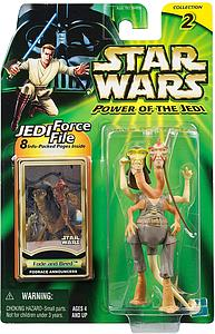 "Star Wars Power of the Jedi 3.75"" Action Figure Fode and Beed"