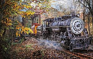 SUNSOUT Puzzle 1000 Piece Train's Coming (30121)