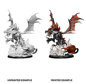 Pathfinder Deep Cuts Unpainted Miniatures: Nightmare Dragon