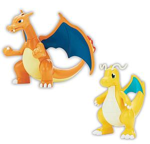 Pokemon Plastic Model Kit: Charizard & Dragonite