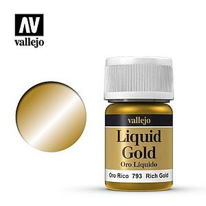 Liquid Rich Gold