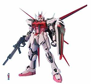 Gundam Master Grade Gundam Seed 1/100 Scale  Model Kit: MBF-02 Strike Rouge