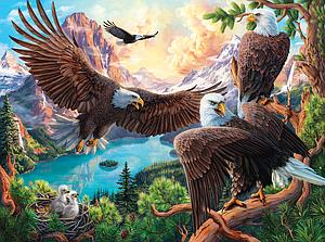 SUNSOUT Puzzle 1000 Piece Eagle Dance (42954)